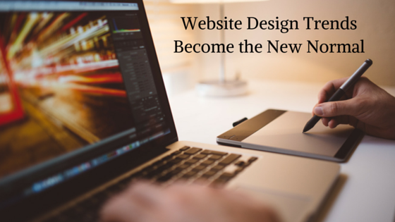 Website Design Trends Become the New Normal