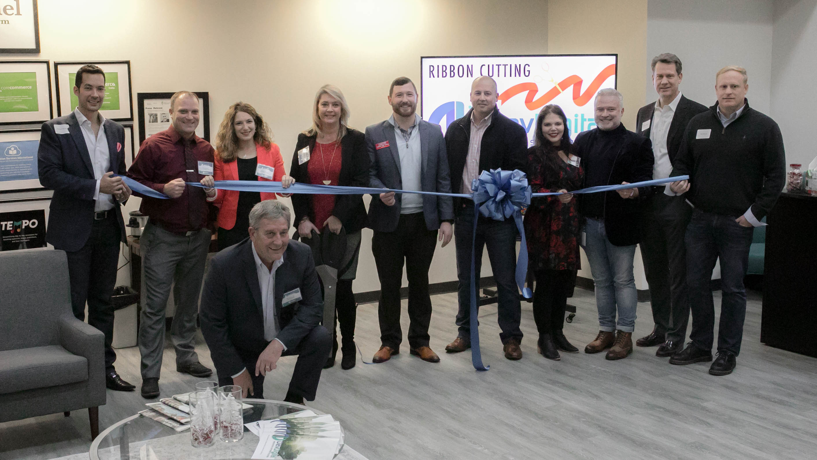 DevDigital hosts ribbon-cutting for new office!