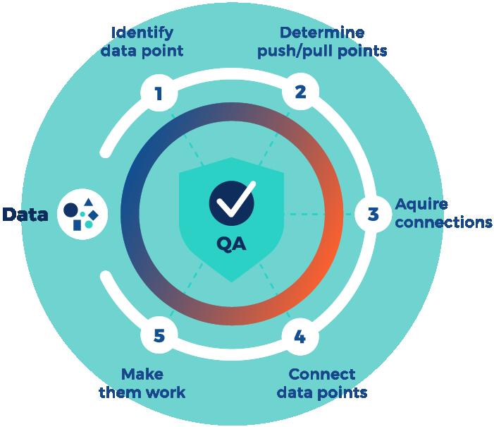 Custom Software Process graphic